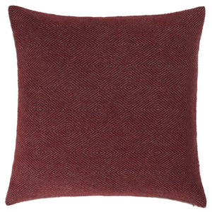 Gotland Cushion [Red/Grey]