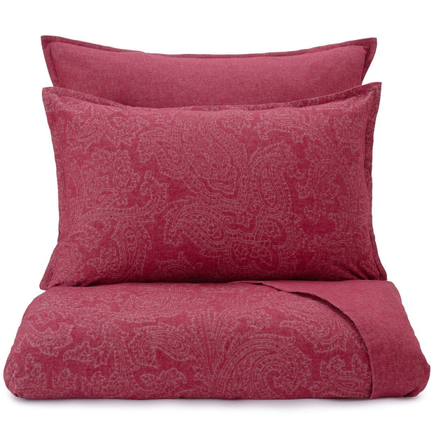 Lourinha duvet cover, ruby red, 100% organic cotton