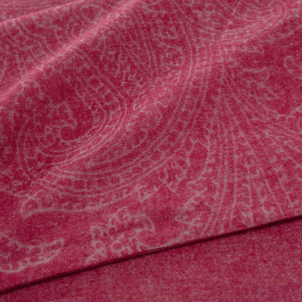 Lourinha duvet cover, ruby red, 100% organic cotton |High quality homewares