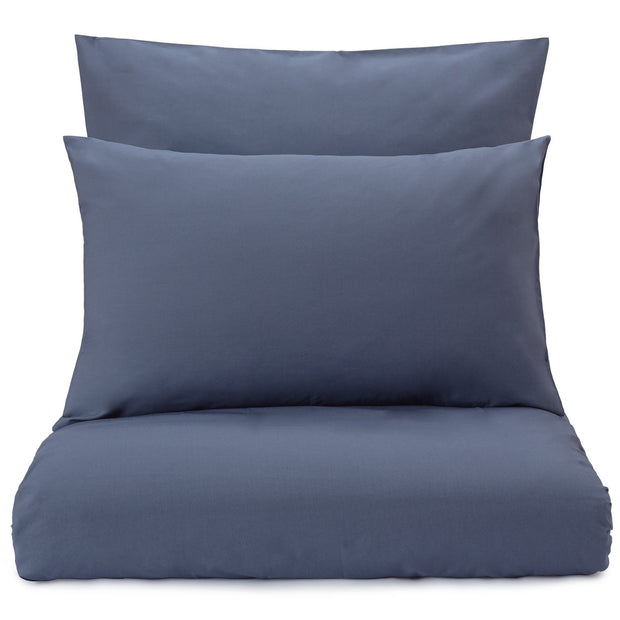 Manteigas duvet cover, dark grey blue, 100% organic cotton