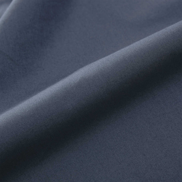 Manteigas fitted sheet, dark grey blue, 100% organic cotton | URBANARA fitted sheets