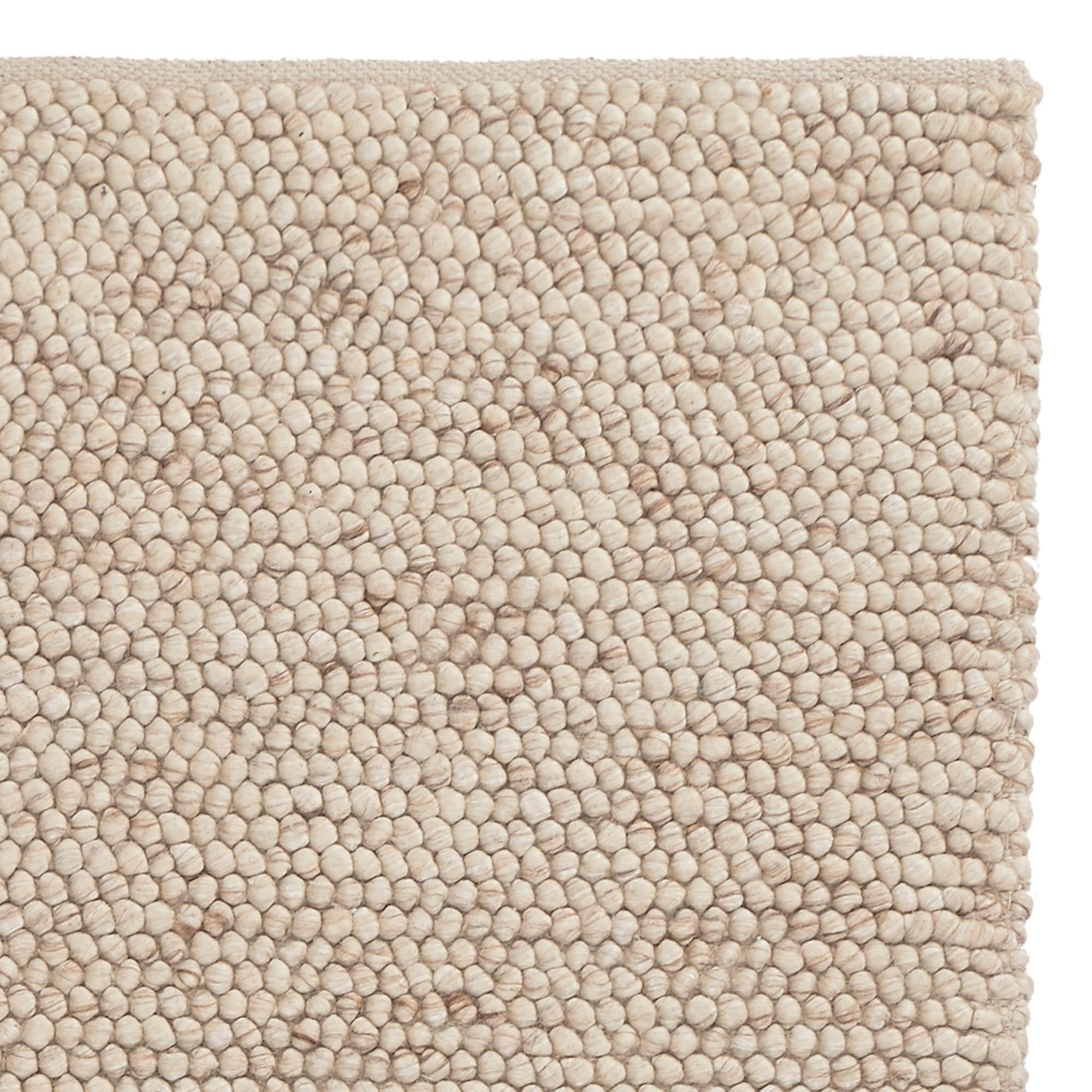 Ravi Wool Rug [Natural white]