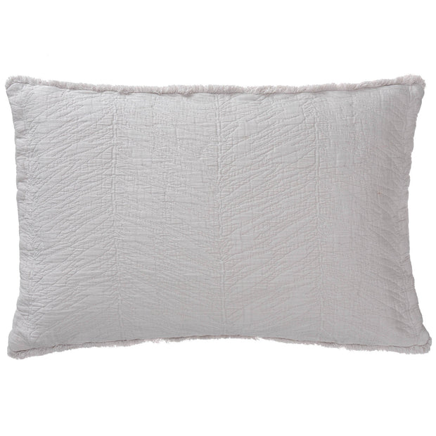 Ruivo Cotton Bedspread [Light grey]
