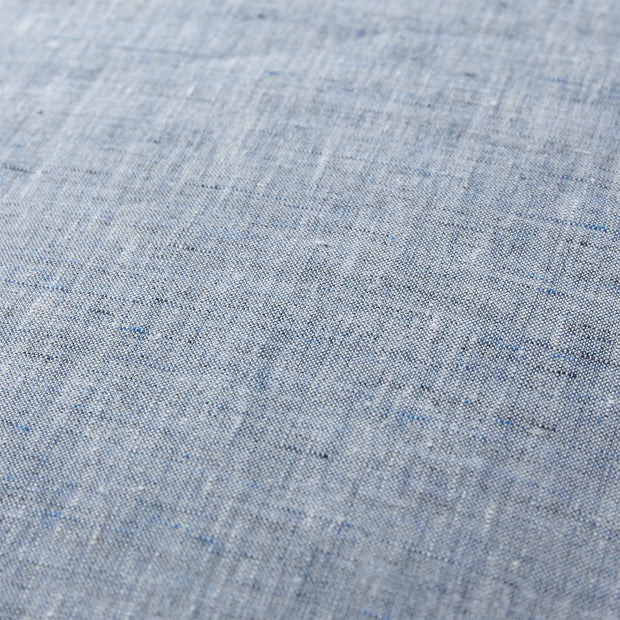 Sameiro cushion cover, dark grey blue & white, 100% linen |High quality homewares