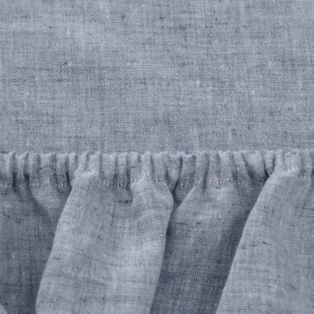 Dark grey blue Sameiro Spannbettlaken | Home & Living inspiration | URBANARA