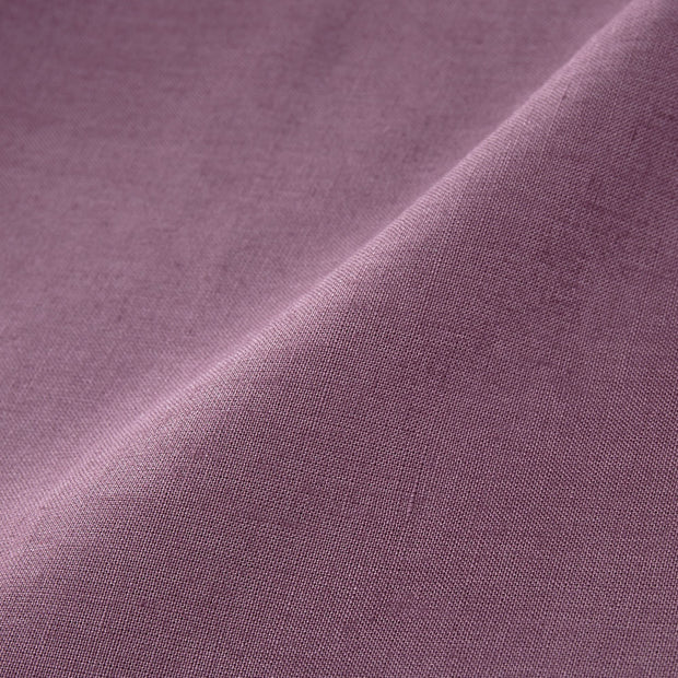 Teis table cloth, aubergine, 100% linen | URBANARA tablecloths