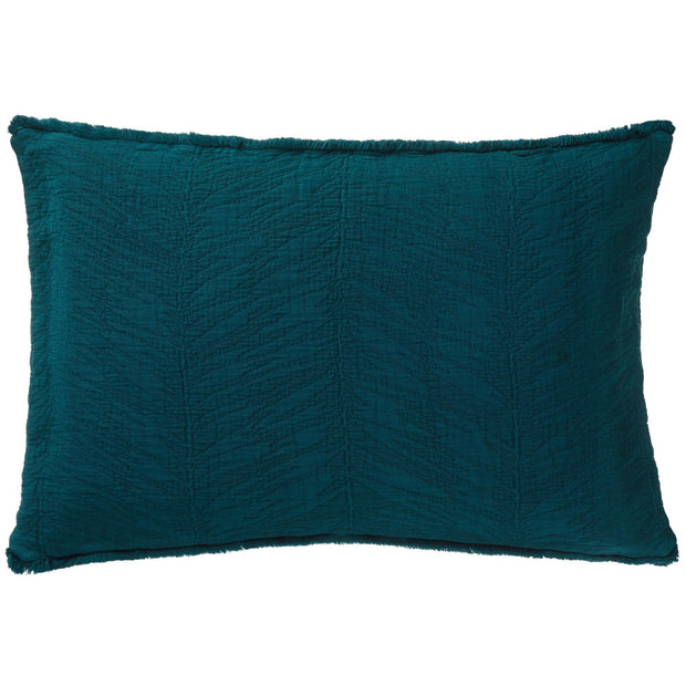Ruivo cushion cover, forest green, 100% cotton