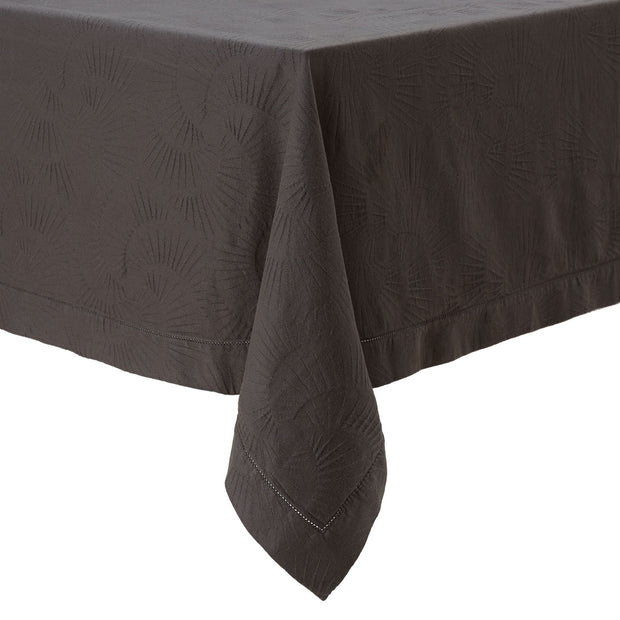 Espinho table cloth, charcoal, 100% cotton
