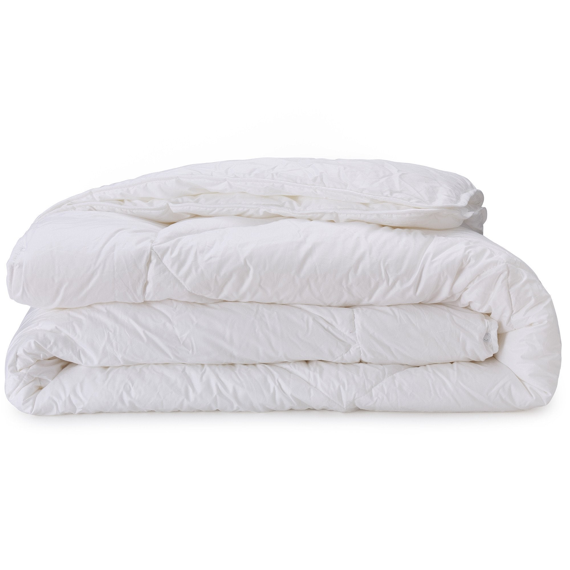 Elsing duvet, white, 100% polyester & 100% cotton