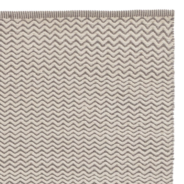 Pandim rug, grey & off-white, 100% wool