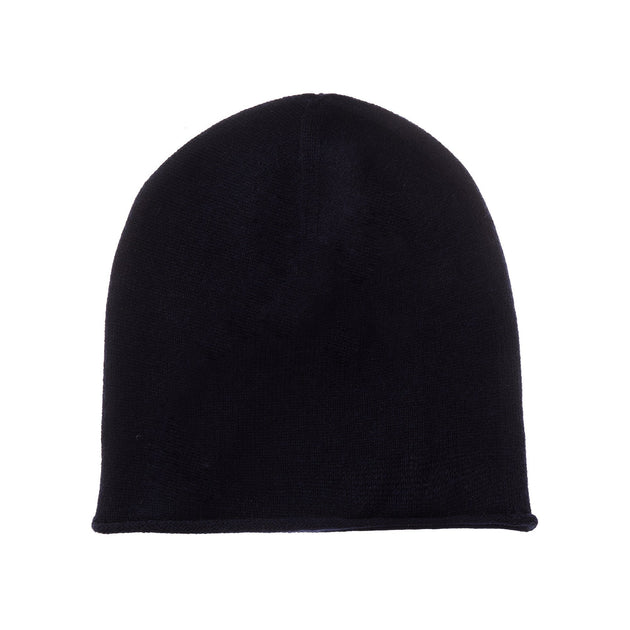 Nora hat, midnight blue, 50% cashmere wool & 50% wool