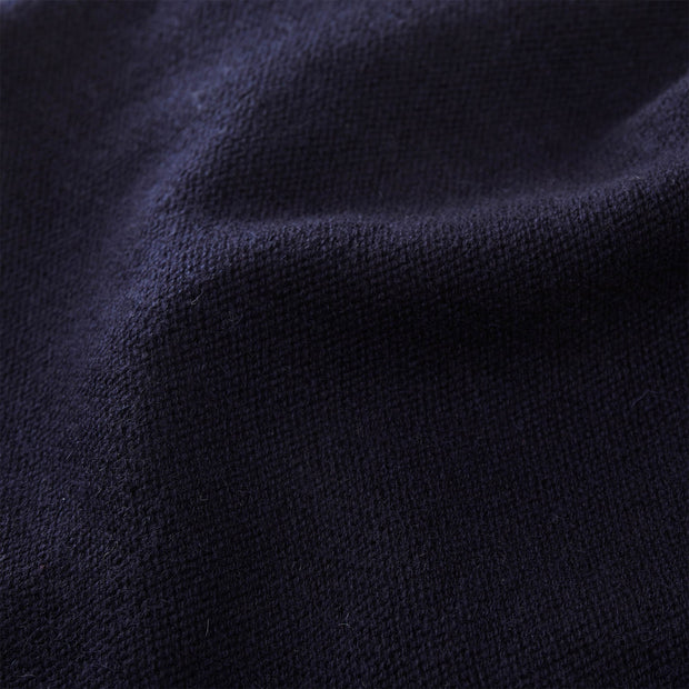 Nora hat, midnight blue, 50% cashmere wool & 50% wool | URBANARA hats & scarves