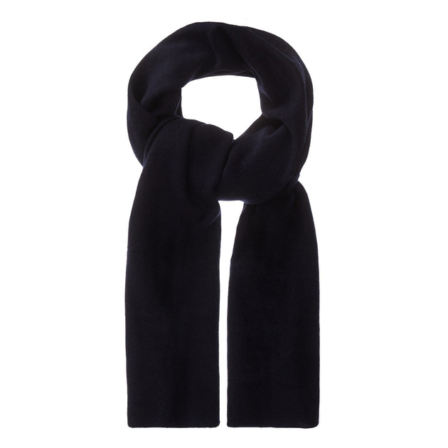 Nora scarf, midnight blue, 50% cashmere wool & 50% wool