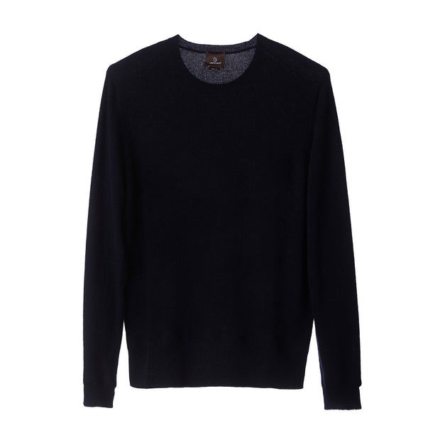Nora Cashmere Jumper midnight blue, 50% cashmere wool & 50% wool | High quality homewares