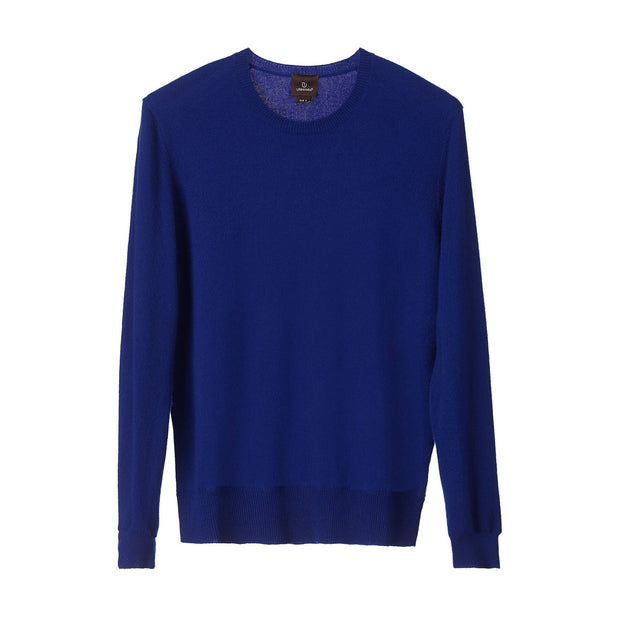 Nora jumper, royal blue, 50% cashmere wool & 50% wool