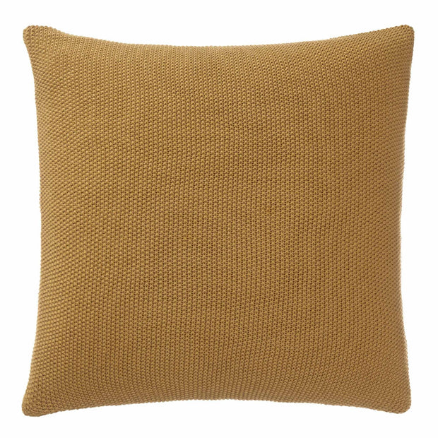 Antua cushion cover, mustard, 100% cotton