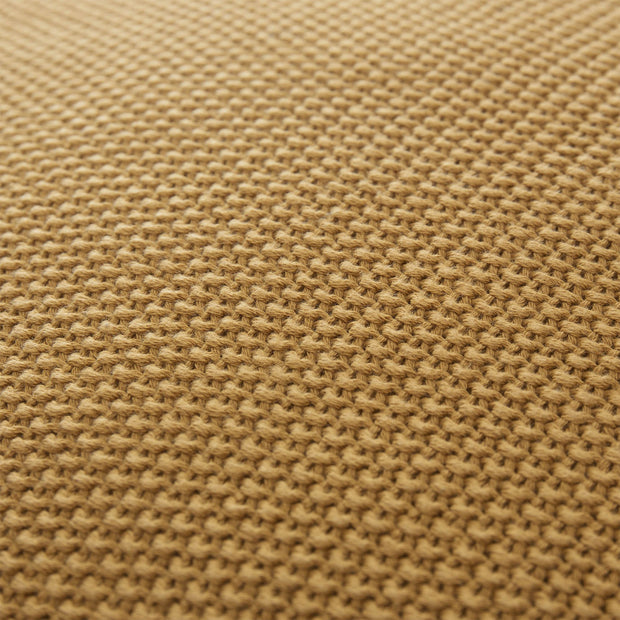 Antua cushion cover, mustard, 100% cotton |High quality homewares
