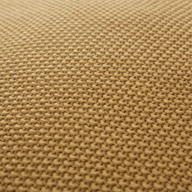 Antua cushion cover, mustard, 100% cotton | URBANARA cushion covers
