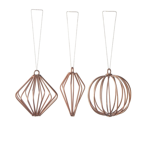 Gori christmas decoration, copper, 100% iron