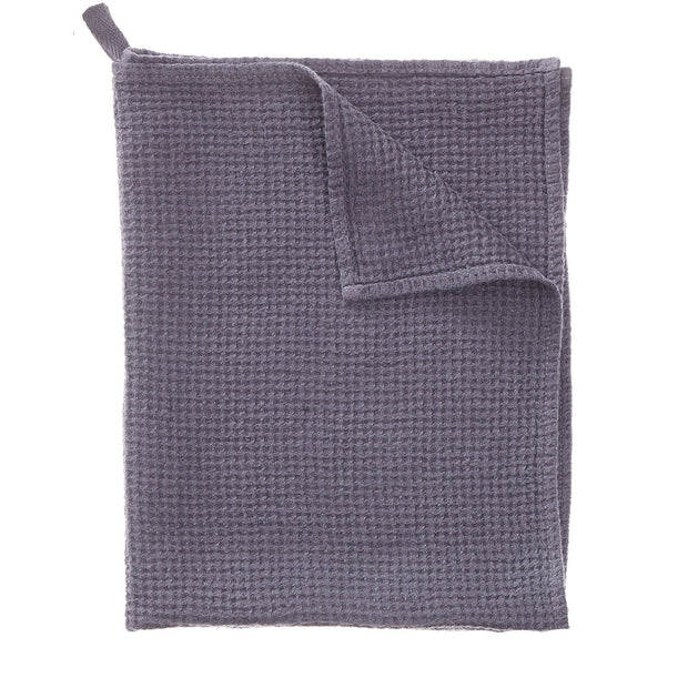 Meeris tea towel, aubergine, 100% linen