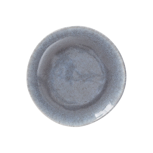 Caima Plate Set blue grey, 100% ceramic