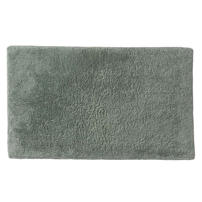 Banas bath mat, light grey green, 100% cotton