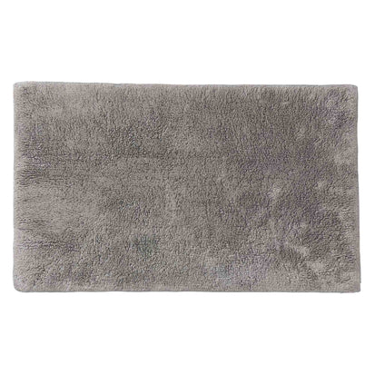 Banas bath mat, light grey, 100% cotton