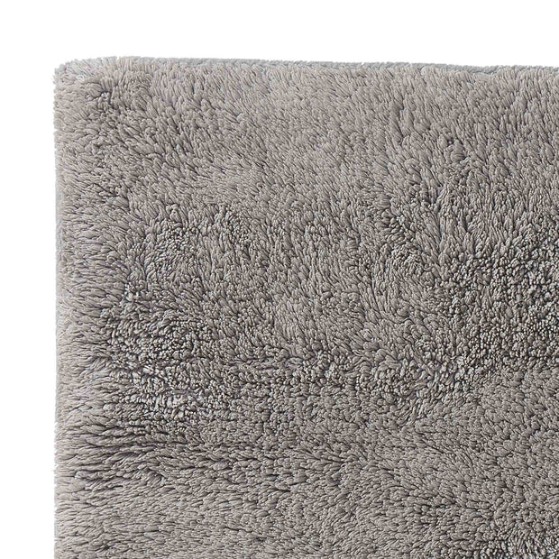 Banas bath mat, light grey, 100% cotton |High quality homewares