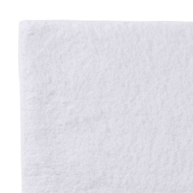 Banas bath mat, white, 100% cotton | URBANARA bath mats