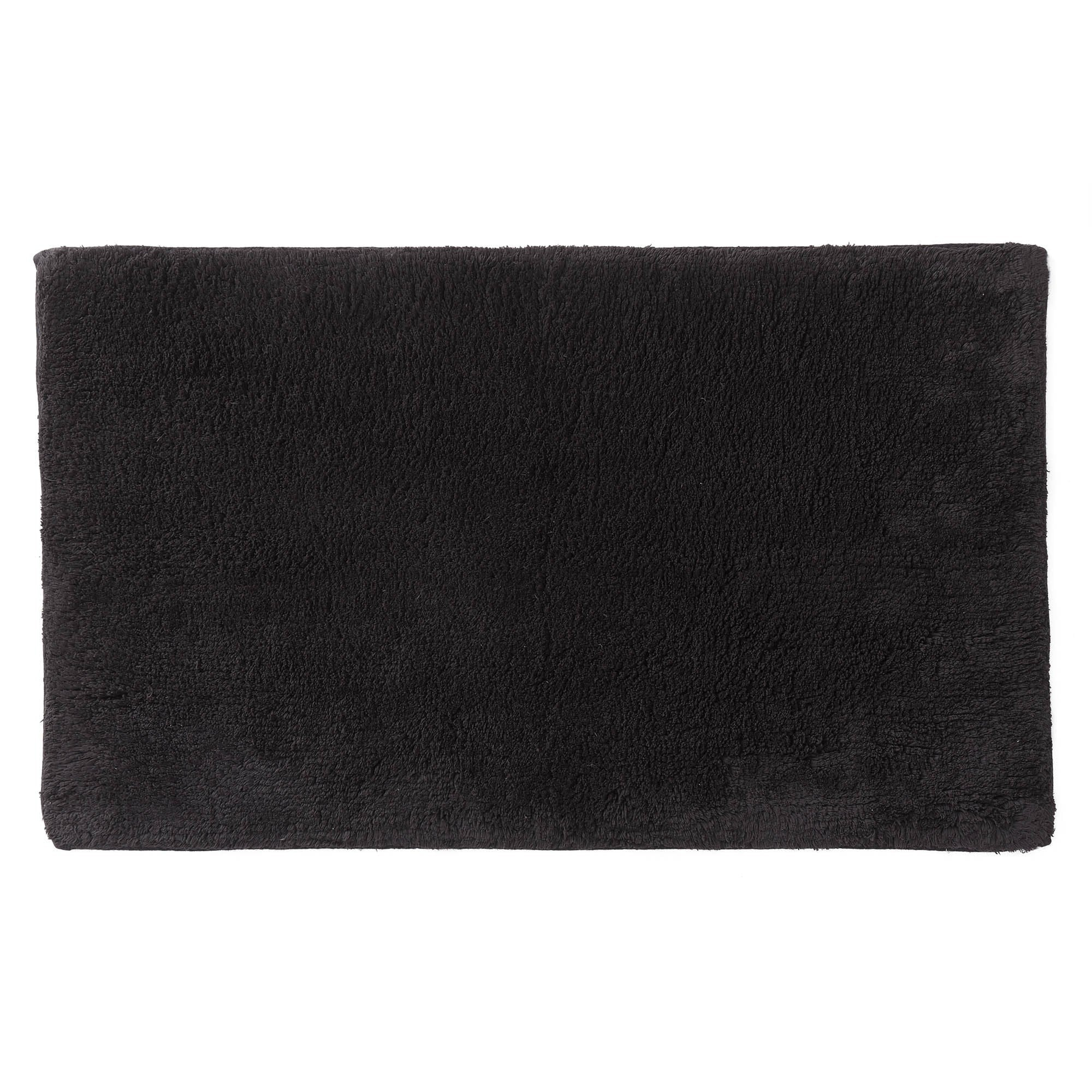 Banas bath mat, charcoal, 100% cotton