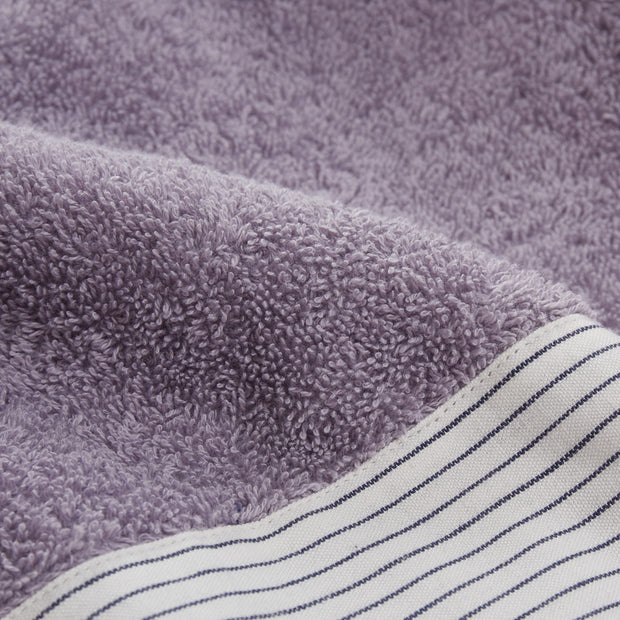 Luni beach towel in light purple grey, 100% cotton |Find the perfect beach towels