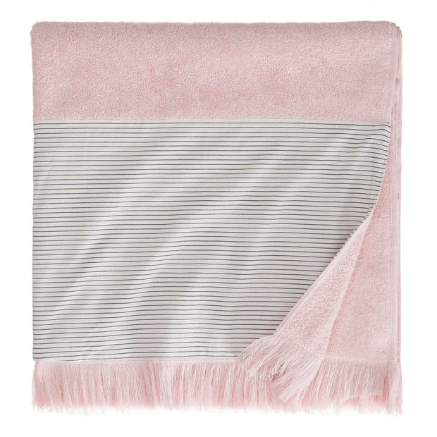 Luni beach towel, light pink, 100% cotton |High quality homewares