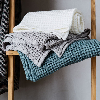 Mikawa Towel Collection in off-white | Home & Living inspiration | URBANARA