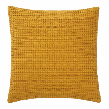 Anadia cushion cover, mustard, 100% cotton