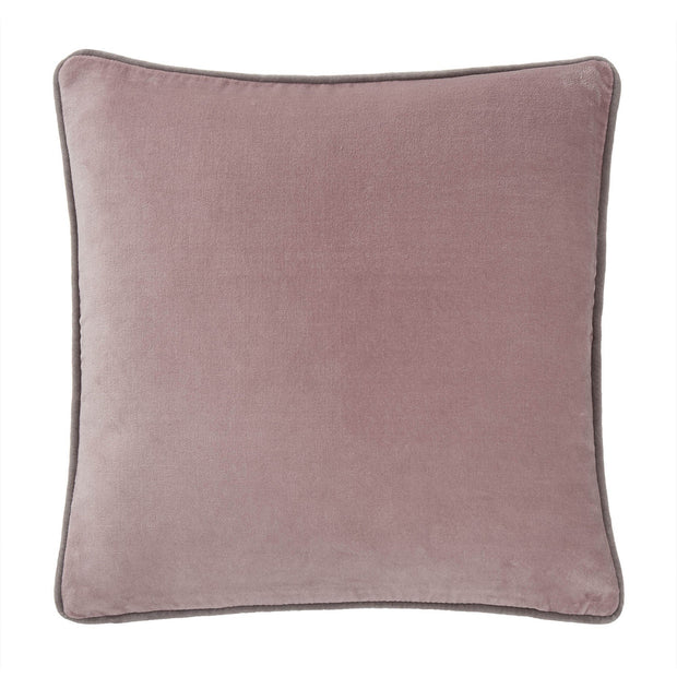 Suri cushion cover, blush pink & grey, 100% cotton