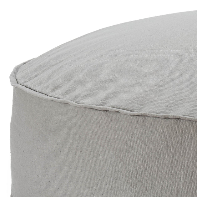 Light grey Nashik Pouf | Home & Living inspiration | URBANARA