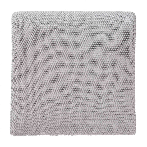 Antua Cotton Blanket silver grey, 100% cotton