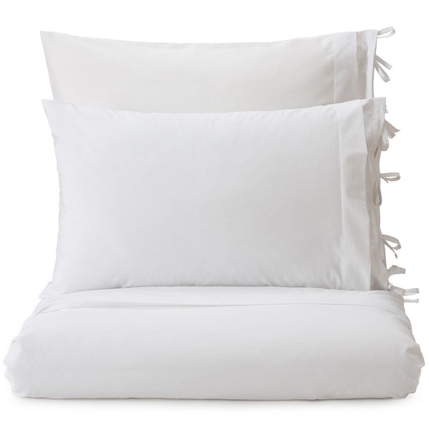 Aliseda duvet cover, white, 100% combed cotton