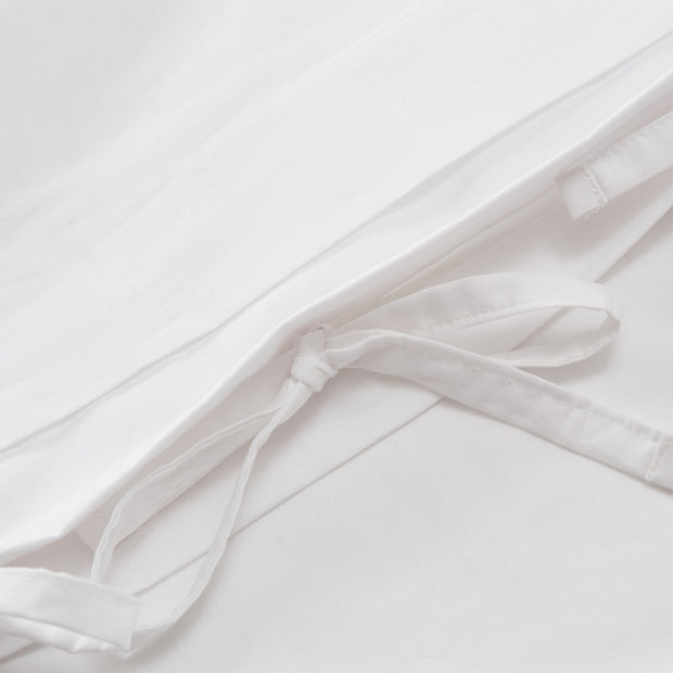 Aliseda duvet cover, white, 100% combed cotton |High quality homewares