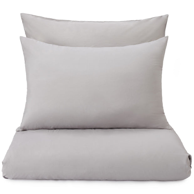 Lucca pillowcase, silver grey, 100% silk