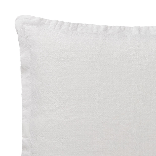 Lousa cushion cover, white, 100% linen | URBANARA cushion covers