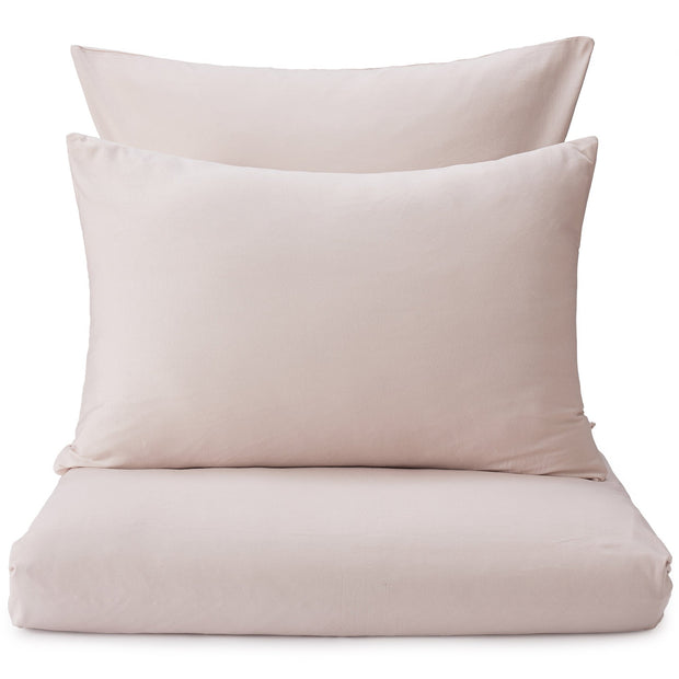 Samares duvet cover, powder pink, 100% cotton