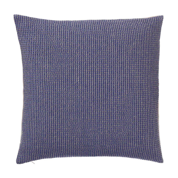 Kovai blanket in ultramarine & natural, 50% linen & 50% cotton |Find the perfect cotton blankets