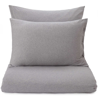 Sabugal duvet cover, light grey melange, 100% cotton