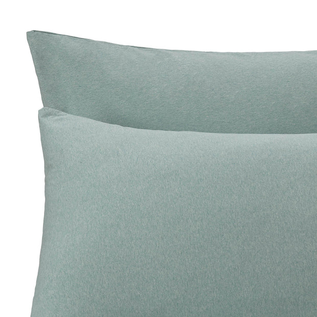 Sabugal pillowcase, emerald melange, 100% cotton |High quality homewares