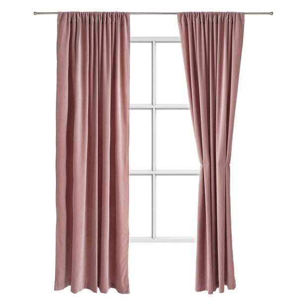 Samana curtain, blush pink, 100% cotton