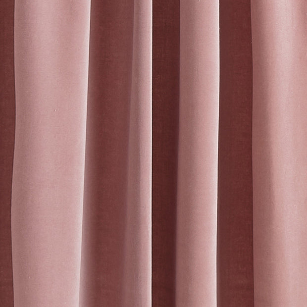 Samana curtain, blush pink, 100% cotton |High quality homewares
