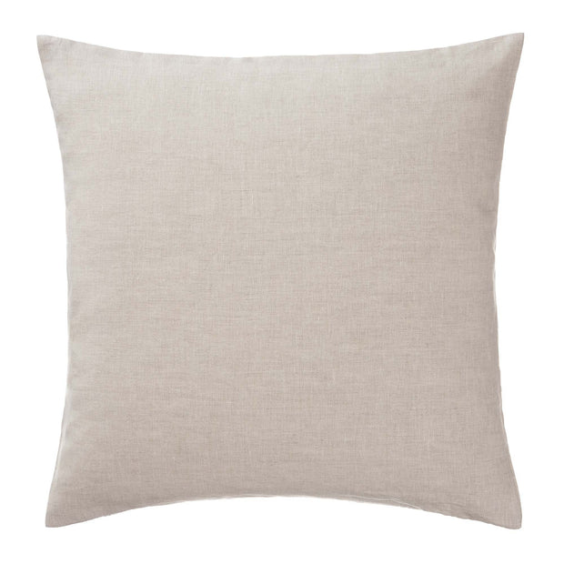 Cataya cushion cover, white & natural & dark blue, 100% linen |High quality homewares