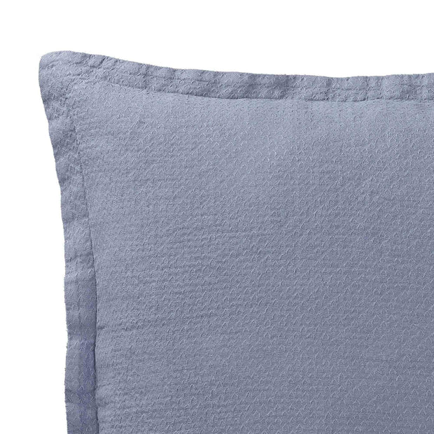 Lousa cushion cover, light grey blue, 100% linen | URBANARA cushion covers