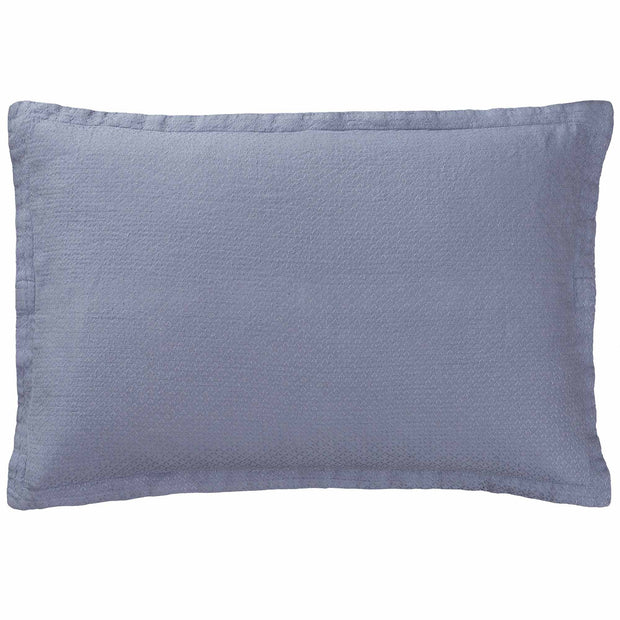 Lousa cushion cover, light grey blue, 100% linen